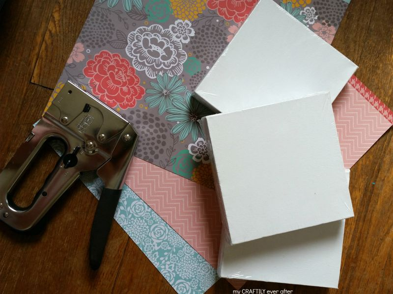 supplies for paper covered canvasses