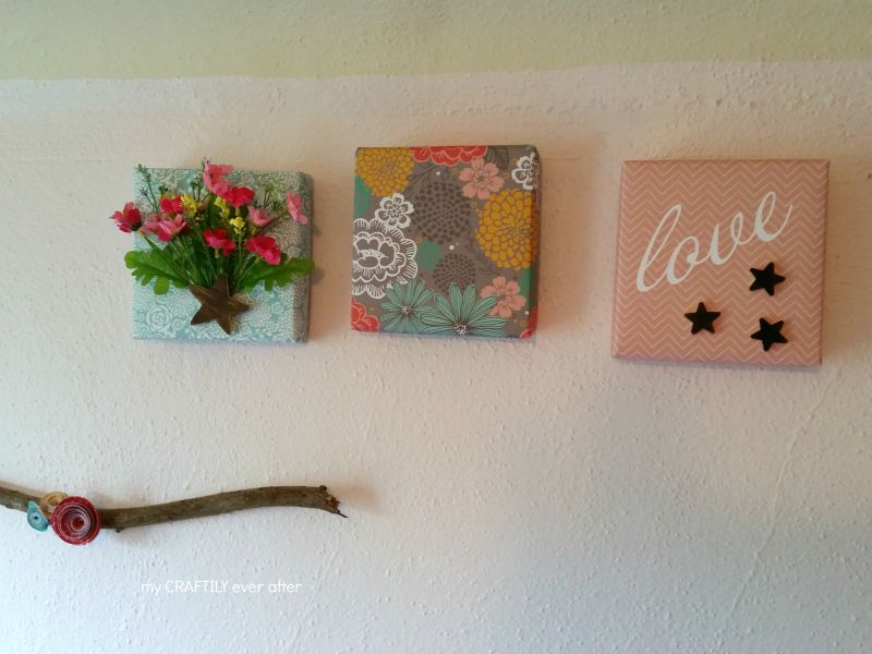 Paper Covered Canvases
