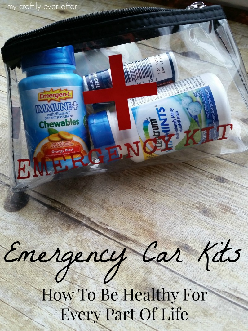 #BeHealthyForEveryPartOfLife #ad Emergency Car Kits
