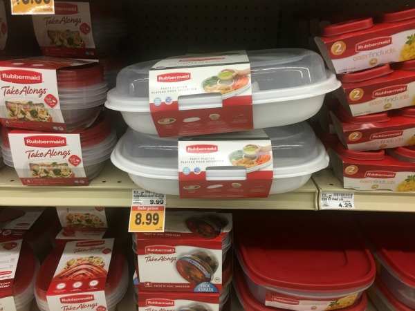 Fred Meyer Rubbermaid party Platter