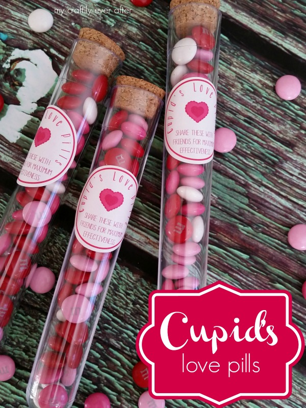 Cupid's love pills for valentines day