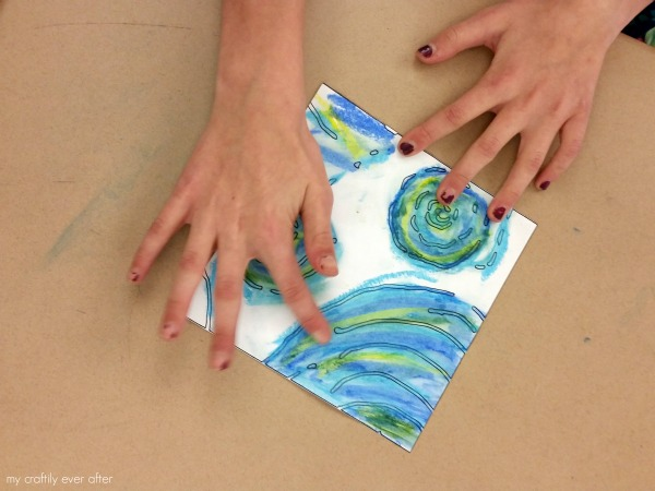 collaborative art in the classroom
