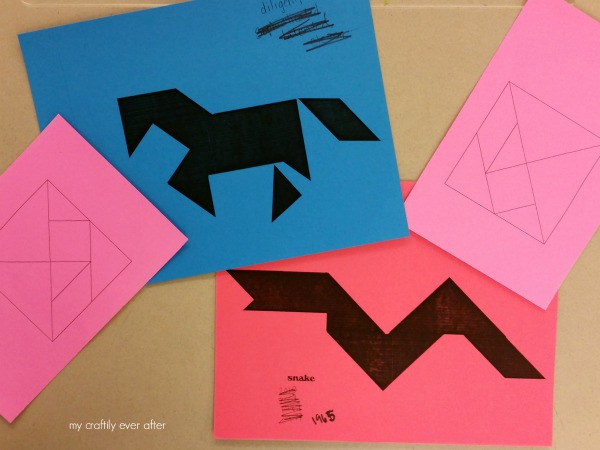 chinese tangram puzzles