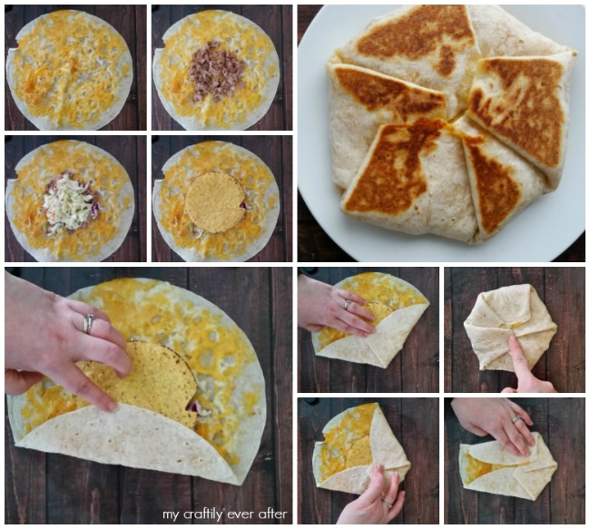 how to make a crunch wrap