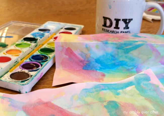 creating an eric carle watercolor garden