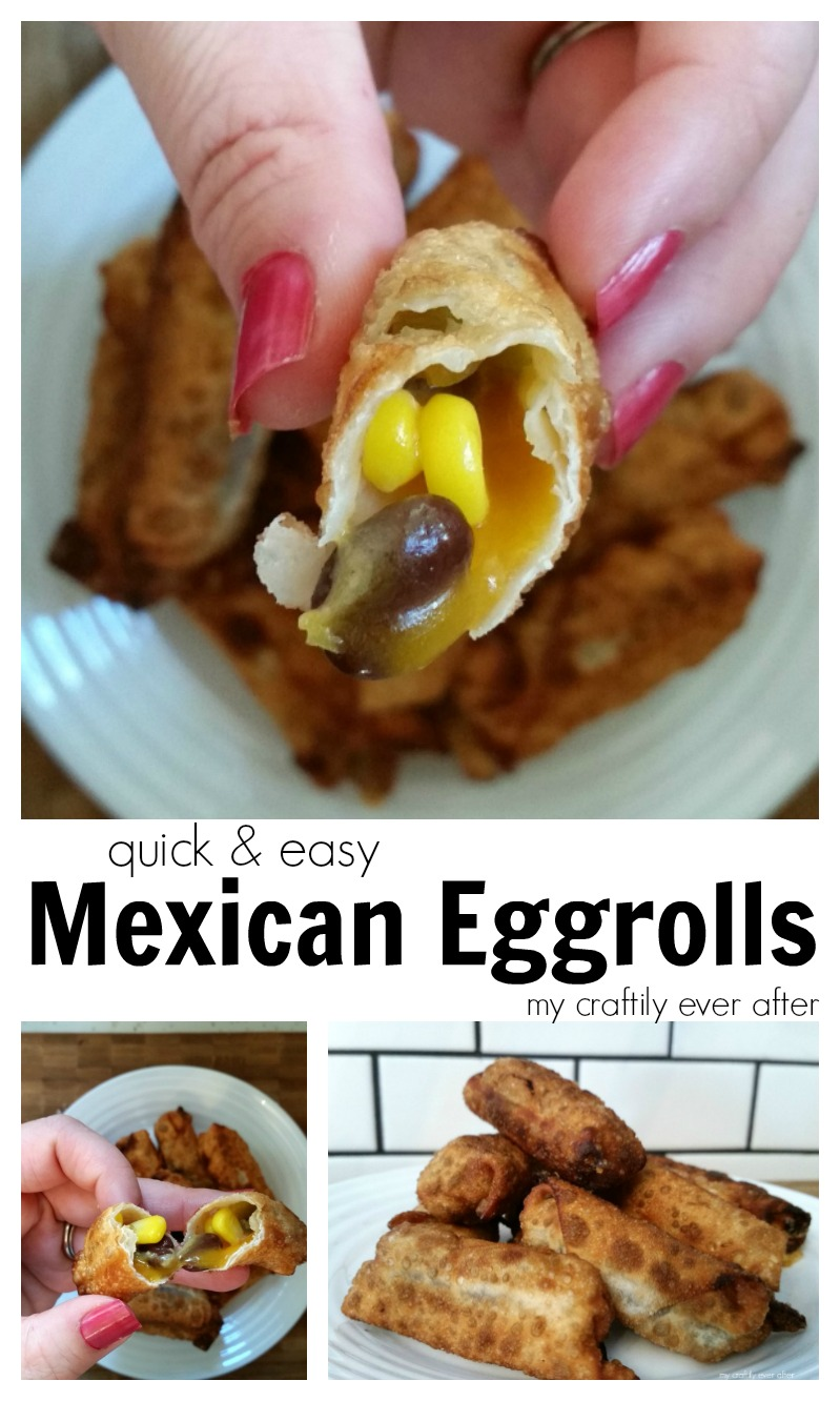 quick and easy mexican eggrolls