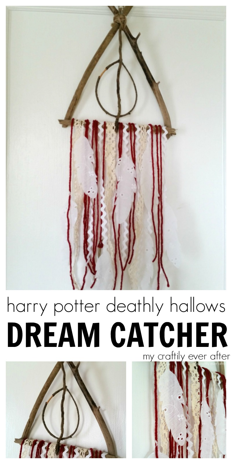 harry potter deathly hallows dream catcher