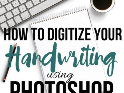 How to Digitize Your Handwriting