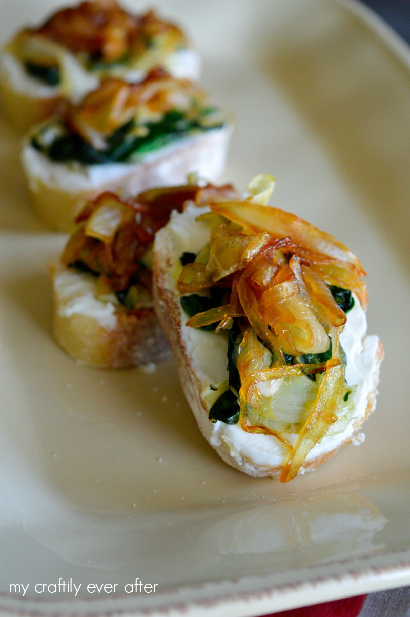 goat-cheese-spinach-and-caramelized-onion-bruschetta-snacks