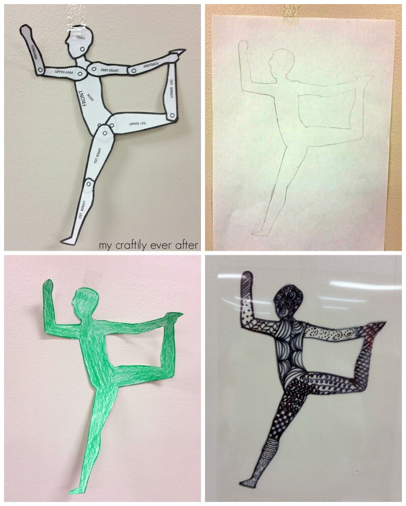 step-by-step-contour-drawings-with-line-pattern-overlay