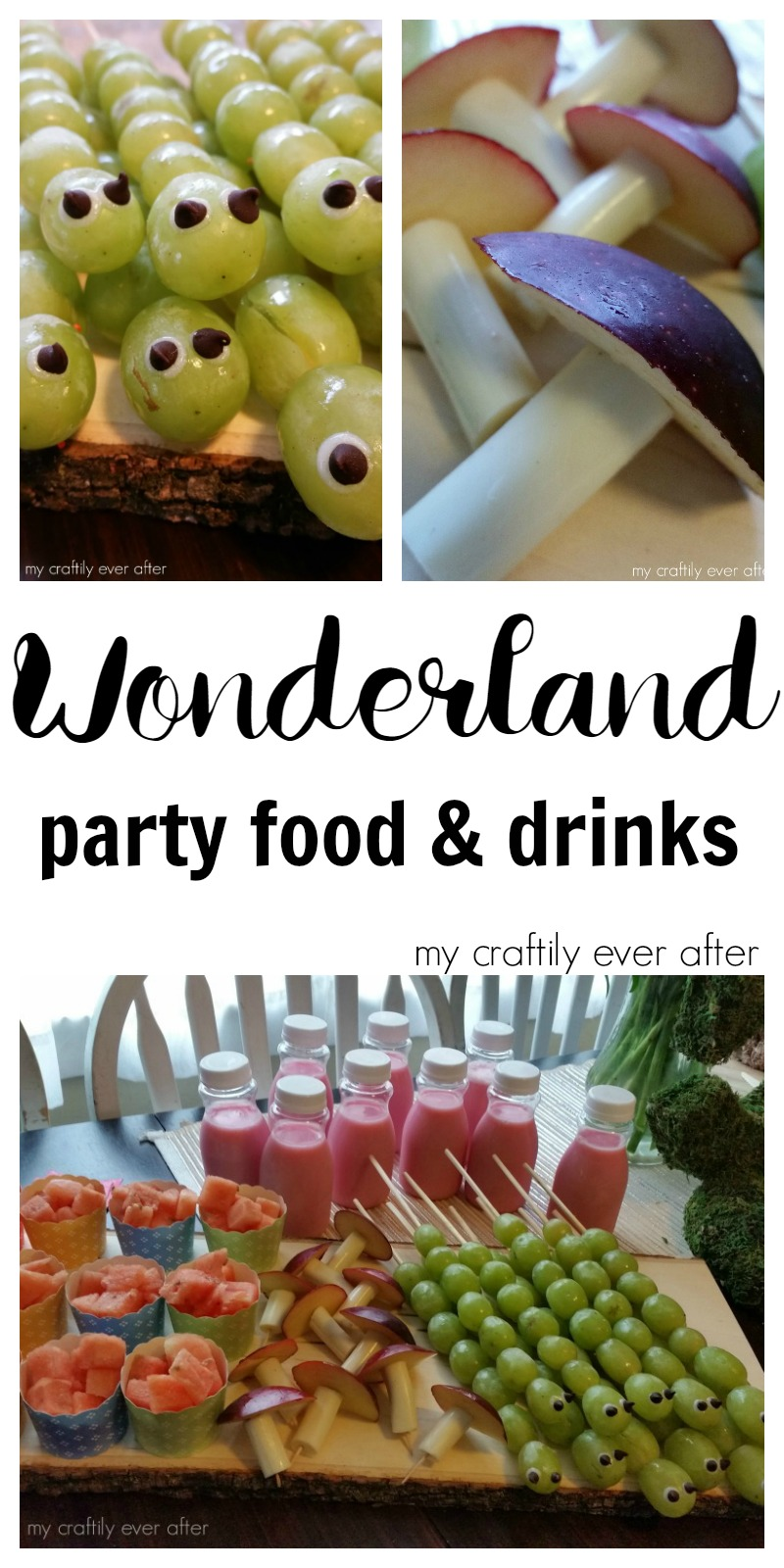 food party drinks wonderland craftily ever parties