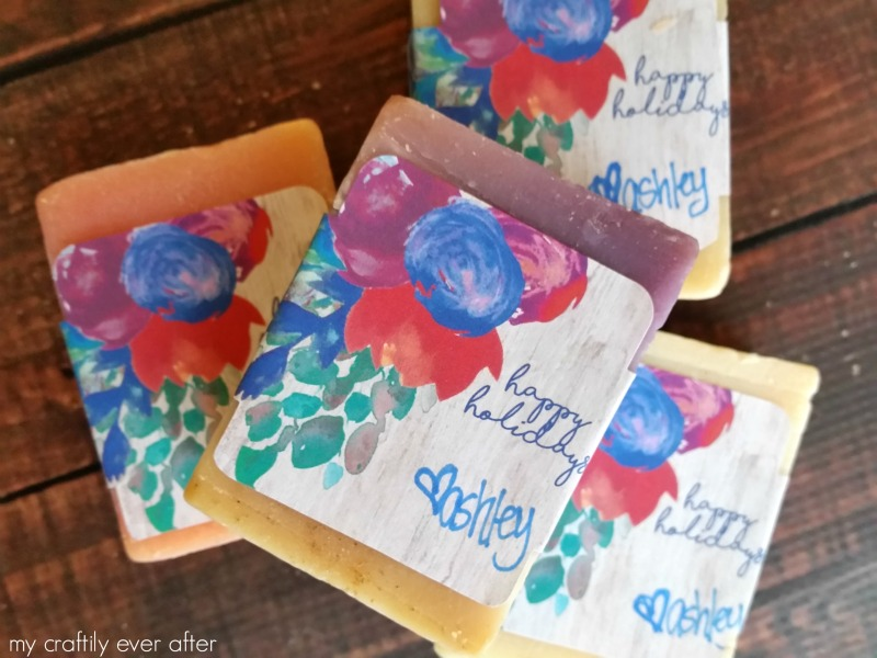 Handmade Soap Gift Printable Labels
