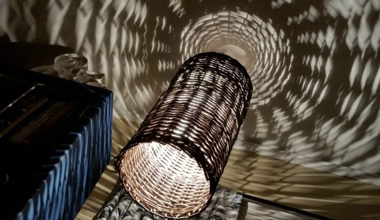 How to Make a Wicker Basket Light