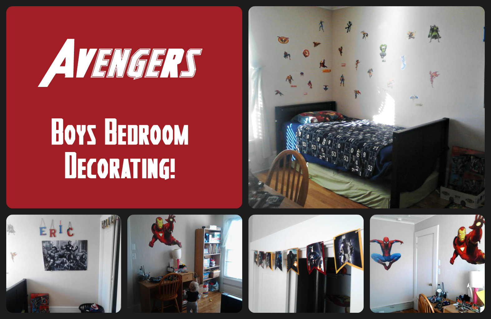 Twin Boys Bedroom Ideas Boys Bedroom Avenger S Design My Craftily Ever After