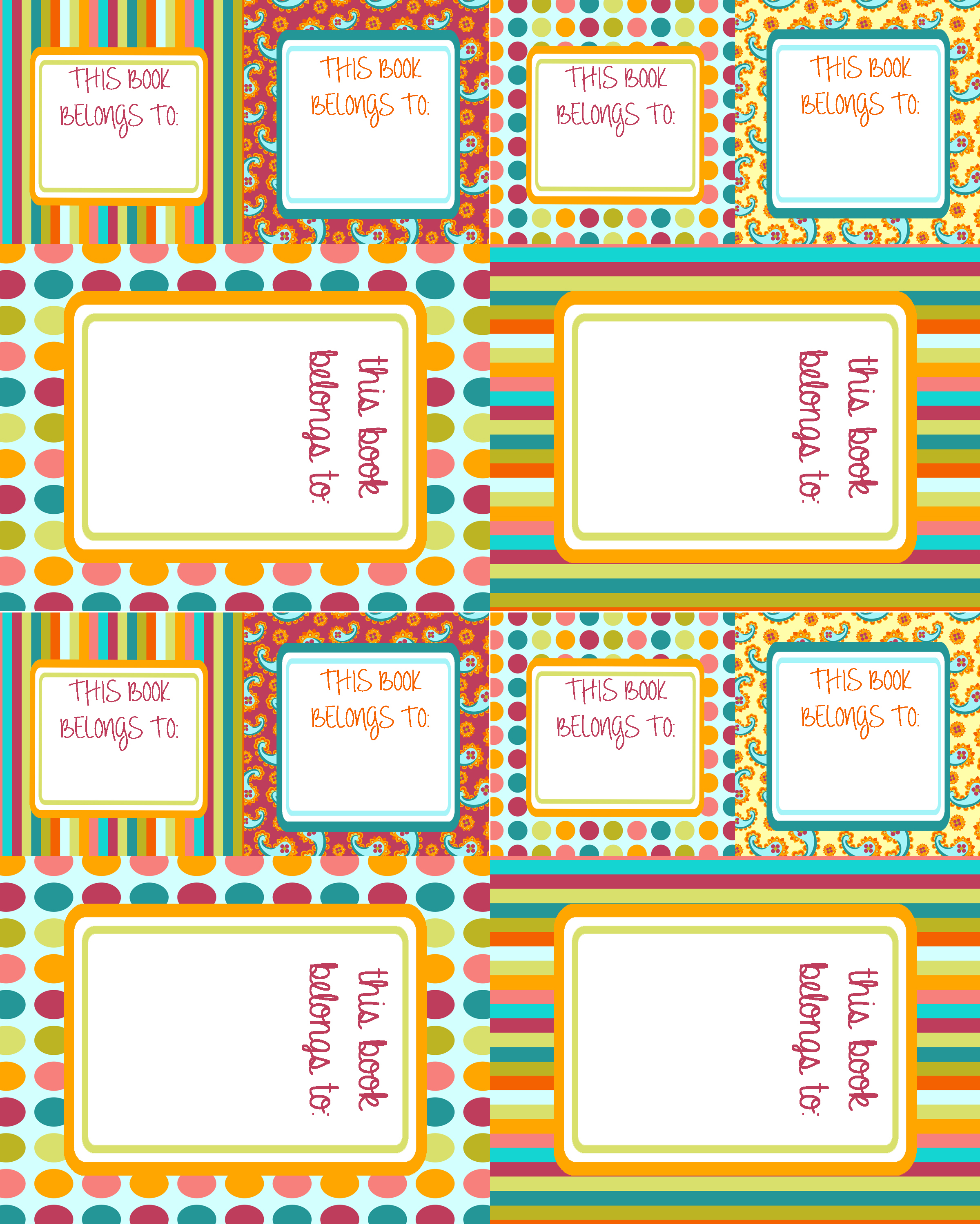 Nameplates a to z teacher stuff printable pages and
