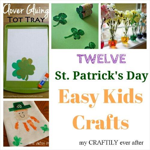 St. Patrick's Day Kids Crafts