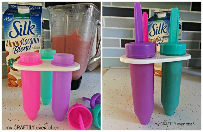 Breakfast Smoothie Popsicles!