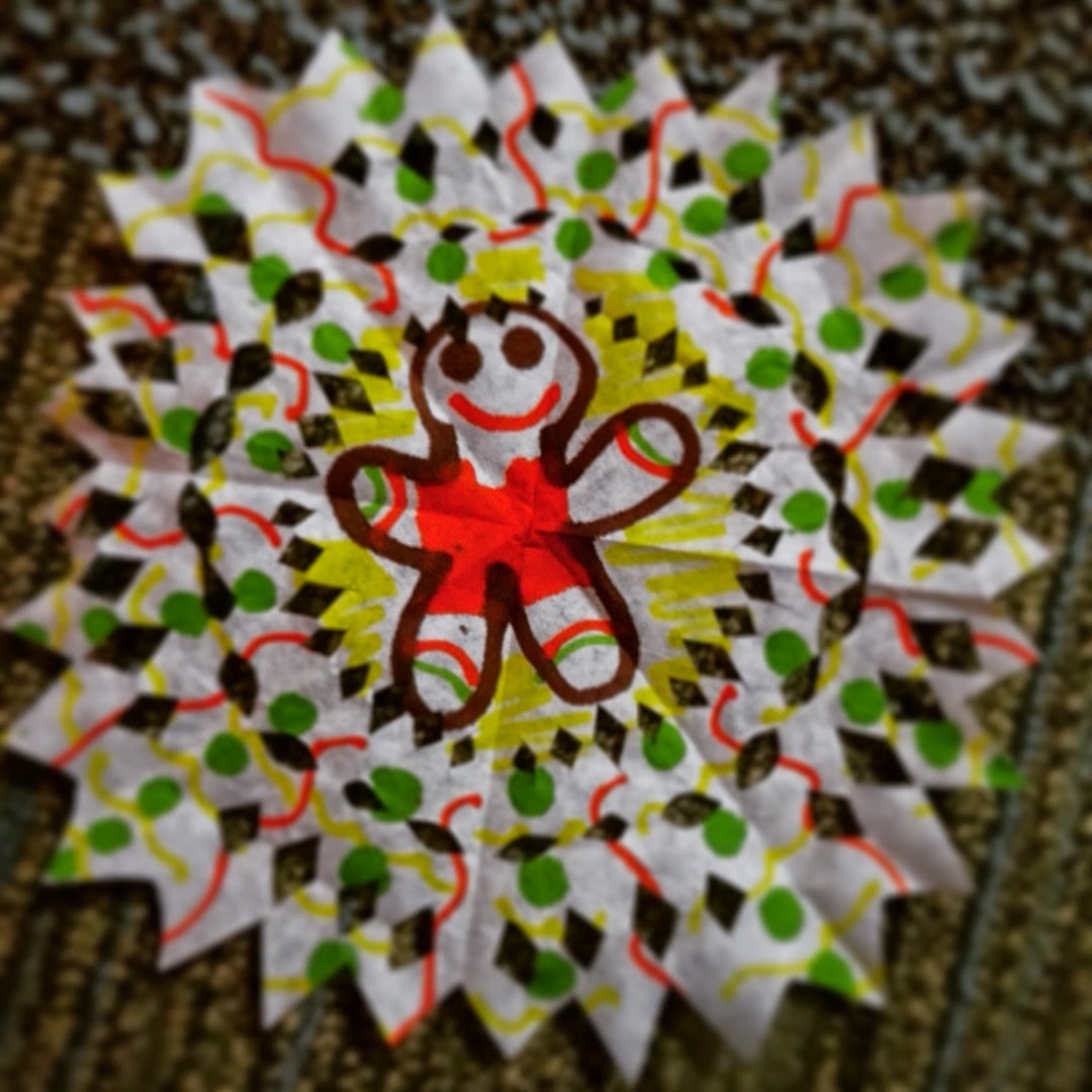 Snowflake Decorations for Kids