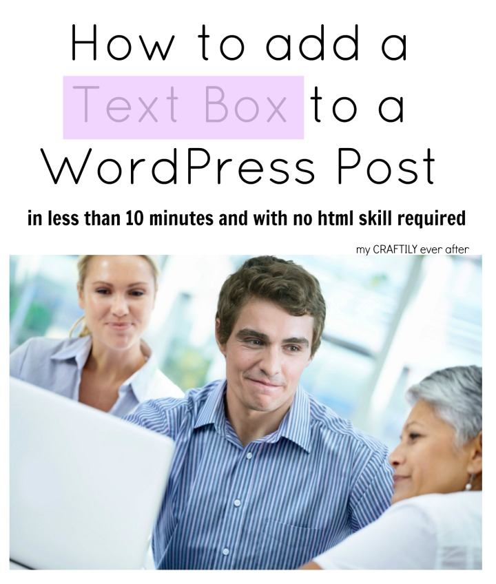 How to Add a Text Box to a WordPress Post