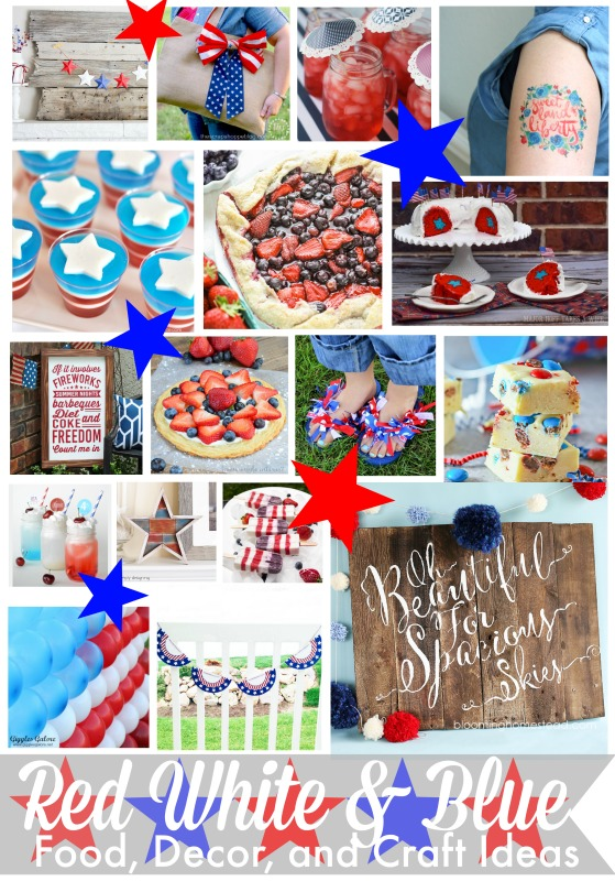 Red, White and Blue Craft Extravaganza!