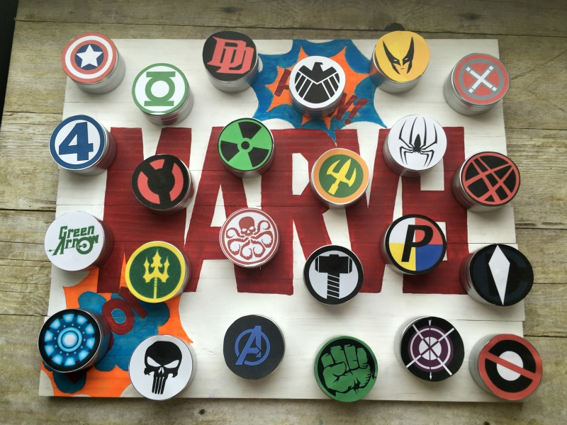 A Super Hero Advent Countdown to Christmas