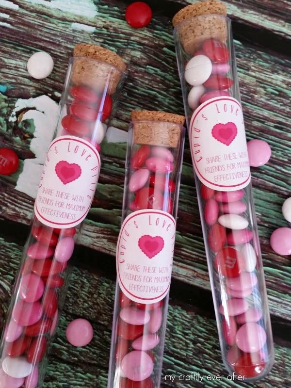 Cupid's Love Pills with Printable