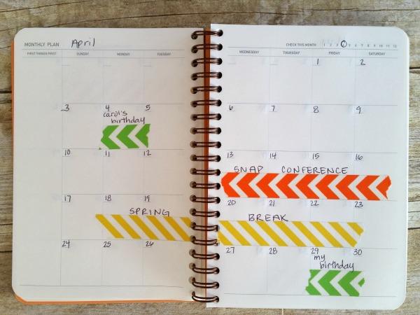 Custom Planner for 2016