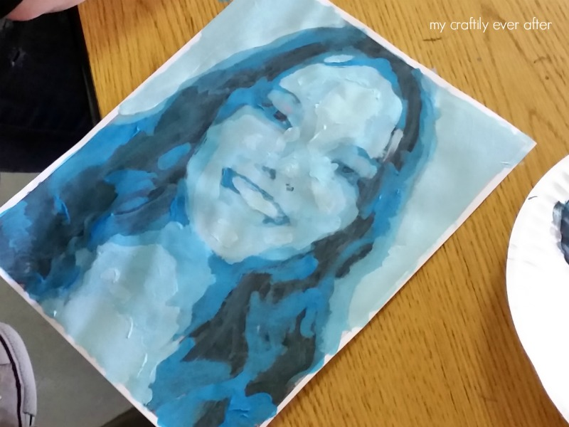 Monochromatic Self Portraits